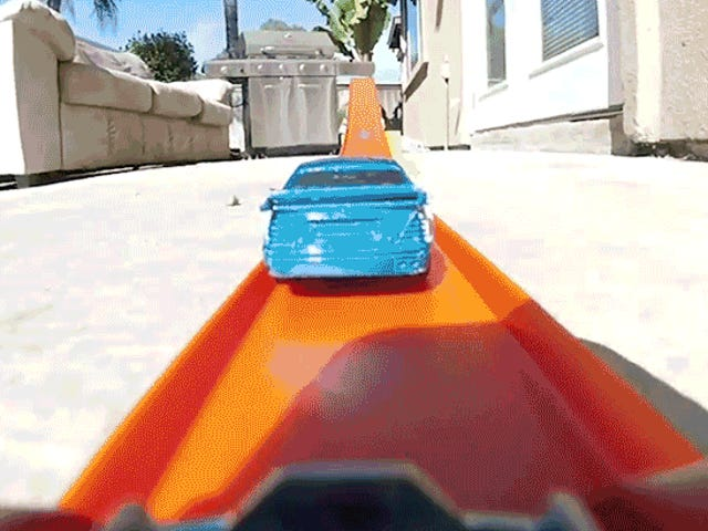 Putting a GoPro on a Hot Wheels Track Is the Safest Way to Become a Stunt Driver