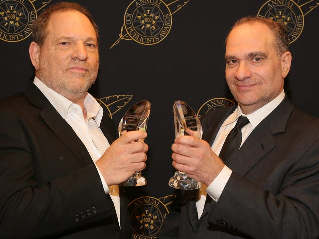 Harvey Weinstein's so awful, his brother has to step down as well