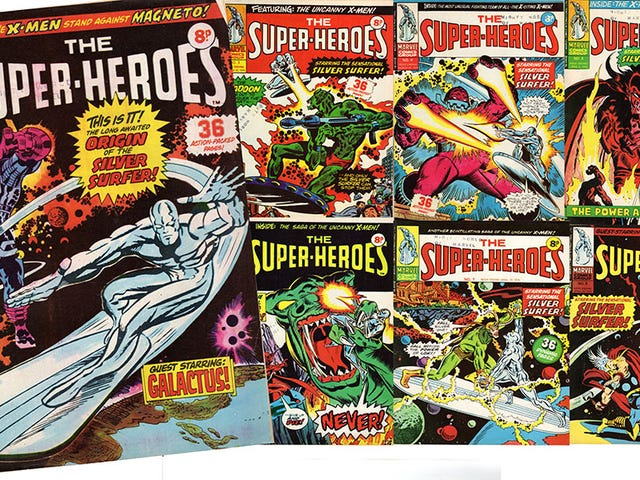 These were the Super-Heroes