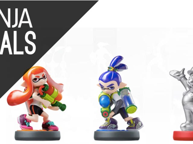 Get Ready to Snag Your Wave 4 Amiibo This Afternoon