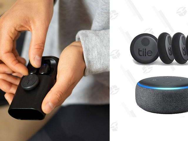 Amazon's Basically Giving Away Echo Dots With the New Tile Trackers