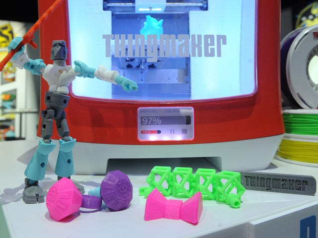 Το Mattel lanzará una impresora 3D παραδίδεται σε 300 δολάρια