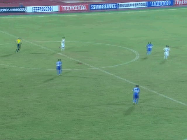 Teenaged Korean Goalkeeper Is God-Awful At Pretending To Try To Stop This Goal
