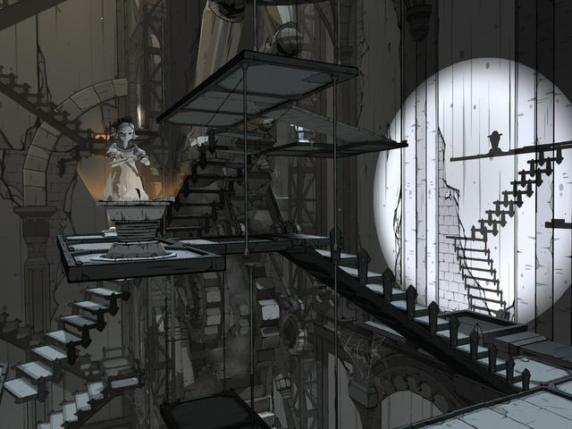 Gothic Puzzle Game Iris Fall Plays Beautifully With Light And Shadow