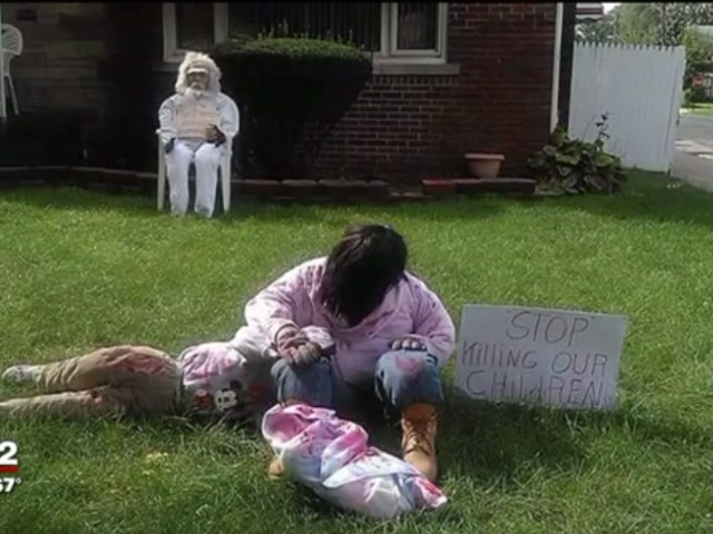 Detroit Woman Viser Real-Life Horrors for Halloween