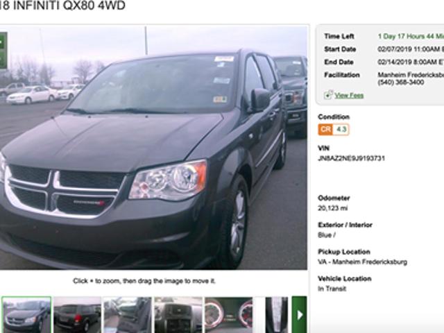 I found the super rare Dodge QX80 Caravan 4WD