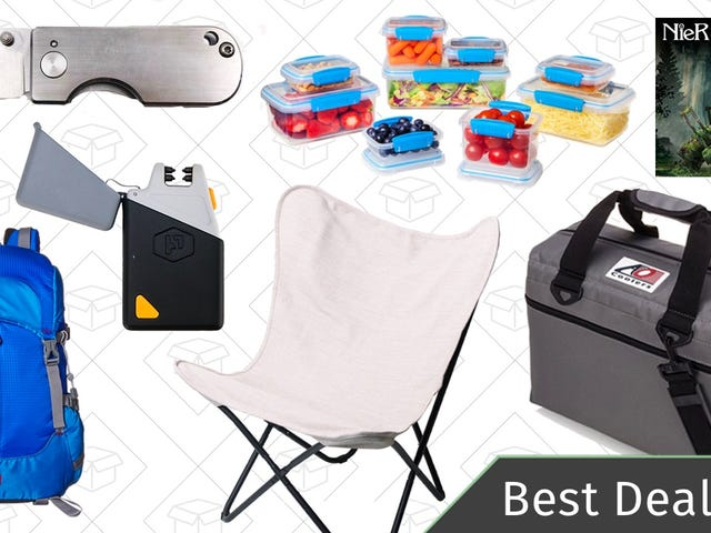 Friday's Best Deals: AO Coolers, Outdoor Furniture, Plasma Lighter, and More