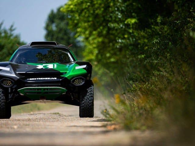The Odyssey 21 คือรถแข่งสูตรปิดถนนสูตรไฟฟ้า E ต้องการให้คุณตื่นเต้น