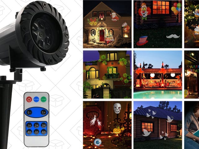 Decorate For All of the Holidays In Seconds With This Affordable Projector