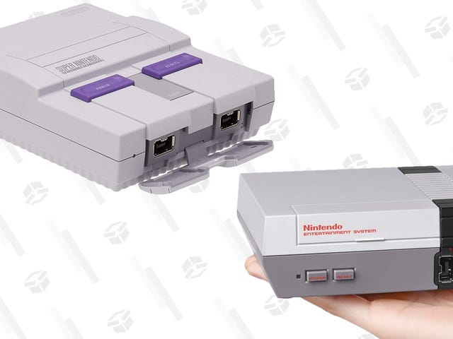 """<a href=""""https://kinjadeals.theinventory.com/the-snes-and-nes-classics-are-both-in-stock-right-now-1827546892"""" data-id="""""""" onClick=""""window.ga('send', 'event', 'Permalink page click', 'Permalink page click - post header', 'standard');"""">The SNES and NES Classic Are Both In Stock Right Now</a>"""