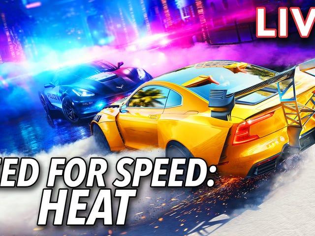 60 Menit Pertama Kebutuhan Kecepatan: Panas