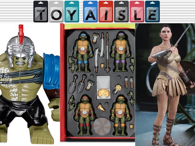The Most Amazing <i>Teenage Mutant Ninja Turtles</i> Set, och mer underbara leksaker i veckan