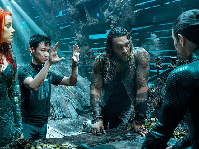 The First Aquaman Photos Are a Vision of a Sunken Majestic Atlantis and a Mysterious Black Manta