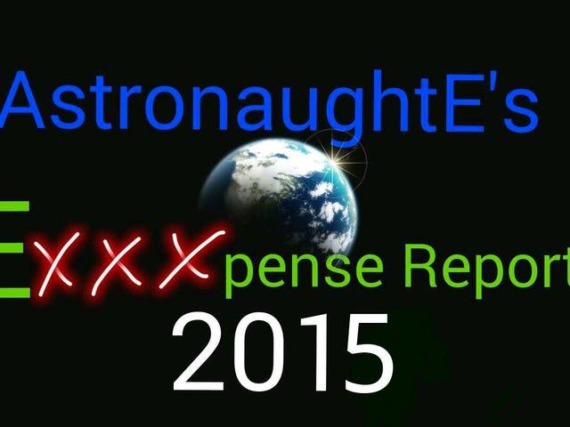 EXXXPENSE REPORT 2015