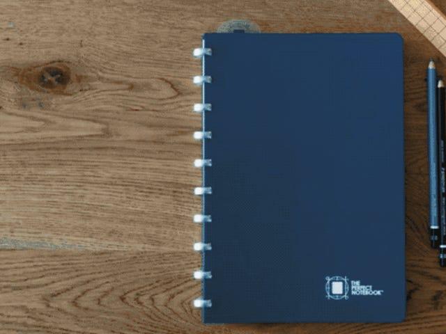 Un proyecto para crear el cuaderno perfecto recauda $ 215.000 da Kickstarter, cada hoja cuesta 85 centavos