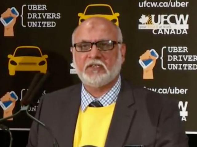 Cientos de conductores de Uber en Toronto se están uniendo a un sindicato
