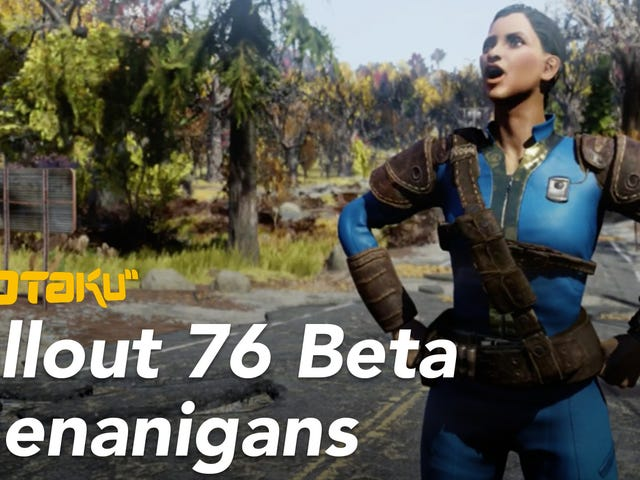 My Misadventures In <i>Fallout 76</i>'s Buggy, Bizarre Beta