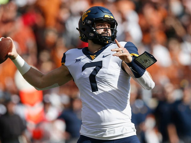 When Will Grier's On Fire, Your Defense Should Be Terrified