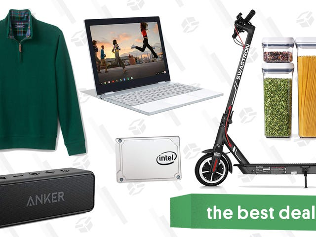 Tuesday's Best Deals: Pixelbook, Instant Pot Accessories, Swagtron Scooter, and More