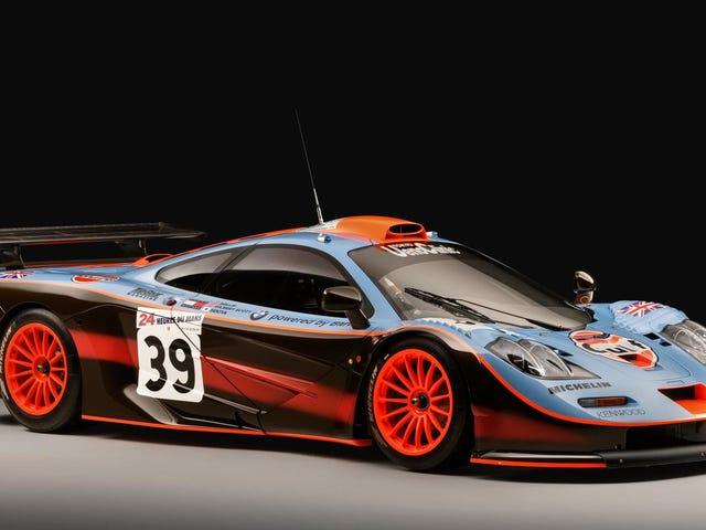 รับการรับรอง McLaren F1 ของคุณเพื่อให้แน่ใจว่าไม่ใช่ของปลอม