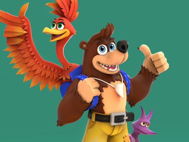 Fans Imagine A New Look For Banjo-Kazooie