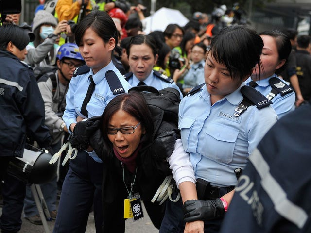 Nine Activists Were Convicted in Connection With Hong Kong's Pro-Democracy Protests
