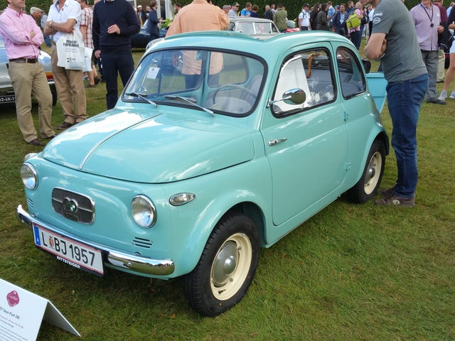 """60 Years of the Fiat 500"" at Goodwood"