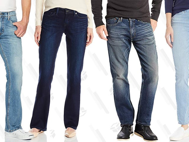 """<a href=""""https://kinjadeals.theinventory.com/amazon-is-taking-up-to-50-off-jeans-by-levis-and-true-1830618913"""" data-id="""""""" onClick=""""window.ga('send', 'event', 'Permalink page click', 'Permalink page click - post header', 'standard');"""">Amazon Is Taking Up to 50% Off Jeans by Levi&#39;s and True Religion</a>"""