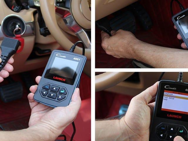 Почуйте, що ваш автомобіль розповідає вам про цей запуск OBD2 продаж сканера