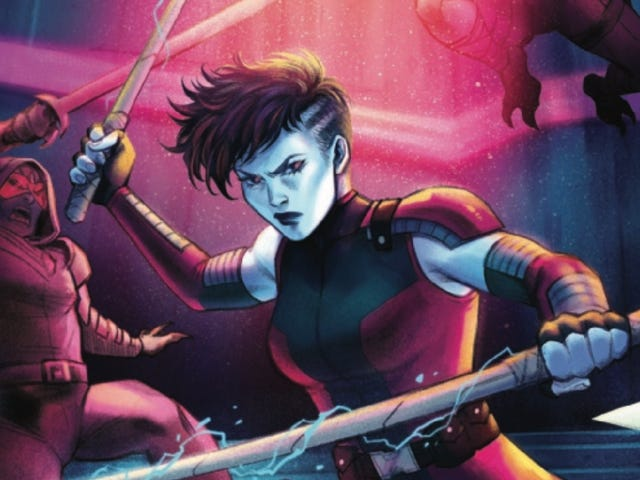 Nebula rebuilds her body and her memory in this exclusive preview