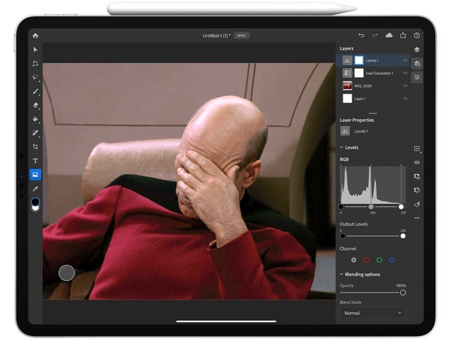 Photoshop för iPad är hemskt. Här är vad som behöver hända för att göra det bra
