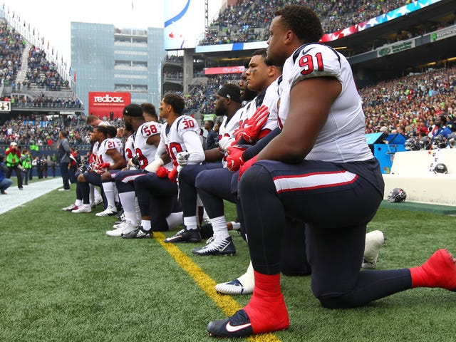 Anthem Protestsを終了するNFLの提案は、All All Power