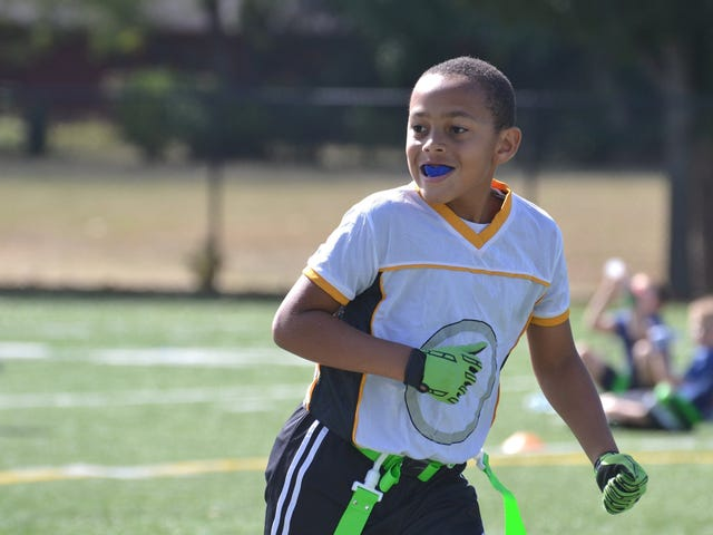Ich will meinen Sohn nicht, um Fußball zu spielen.