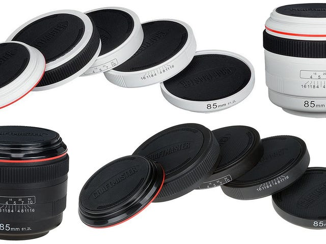 Camera Lens Coasters Keep Coffee Rings Out of Your Photography Studio