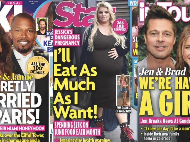 Denne uge i tabloids: Er du klar til Angelina Jolys præsidentkørsel?