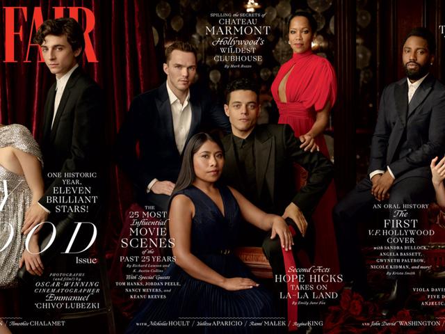 Det er en fejring: Vanity Fair debuterer et tydeligt forskellig 25. årligt Hollywood-emne