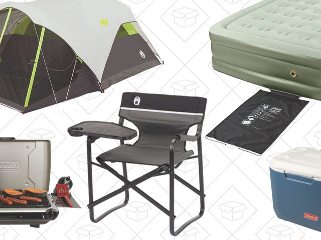 Get Excited For The Next Camping Season With This Gold Box