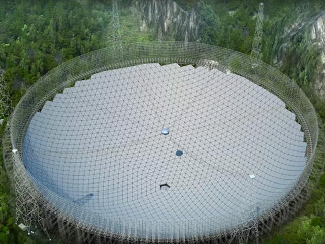 Le plus grand radiotélescope au monde a un problème touristique majeur