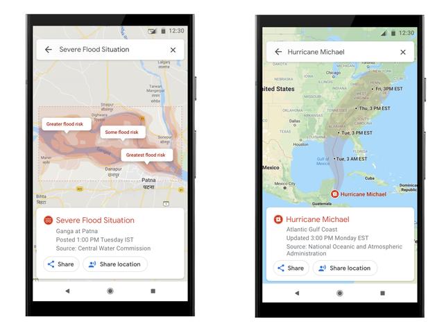 Peta Google Akan Sekarang Mengingatkan Anda Mengenai Bencana Alam di Kawasan Anda