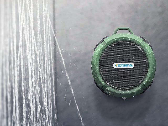 Sing Along in the Shower With This $14 Bluetooth Speaker