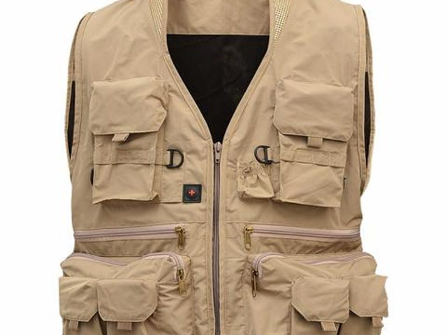 With Cap: No Brand Name: LumiParty Product Number: OU45347F2Z32 Category: Fly Vest/ Fishing Vest/ Ph