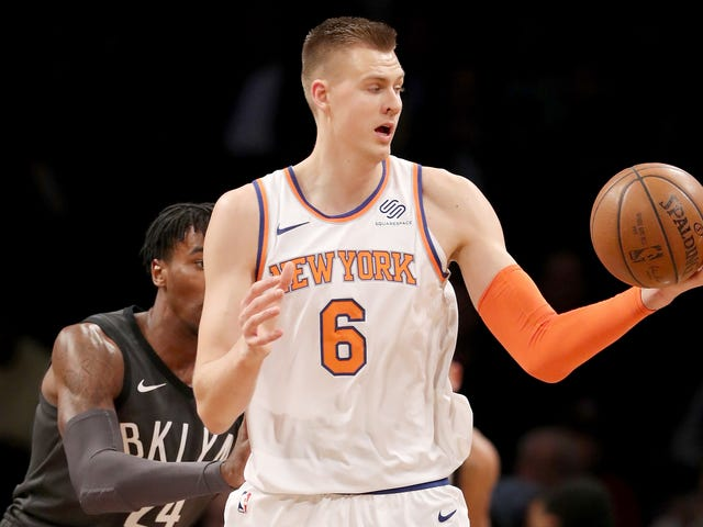 Kristaps Porzingis Is Hurt, But He's Smart