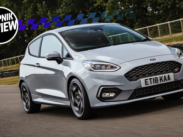 The 2018 Ford Fiesta ST is Even More Fun Than The Focus RS