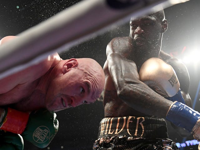 Tyson Fury Would Not Stay Down, Fights To A Draw With Deontay Wilder In Heavyweight Championship