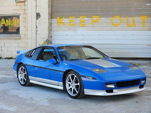 This Fiero GT Finally Has The V8 Power GM Should Have Given It in 1987