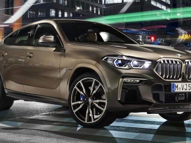 Εδώ είναι η BMW X6 2020 πριν να το υποθέσετε