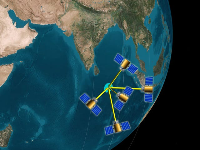 Small Groups of Satellites Are More Accurate Because of Teamwork: Study