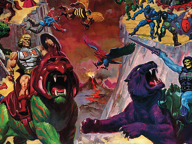 Disse Awesome New Books Chronicle verden af <i>Masters of the Universe</i>