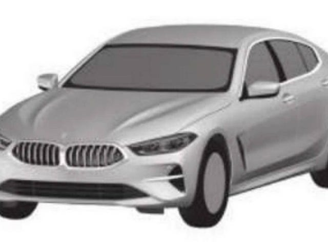 This Patent Rendering Of A BMW 8 Series Gran Coupe Spits In The Face Of A Classic