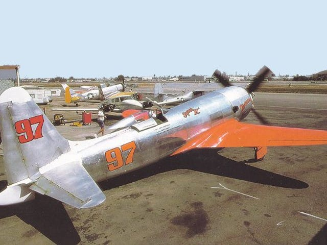 The air racer brought down by a drive-by shooting.